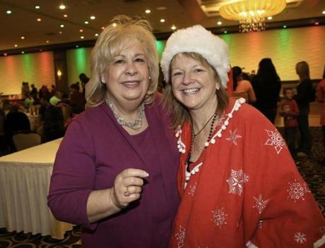 Pat Surprenant (left) of Fall River and Bernadette Ippolito of Hingham.